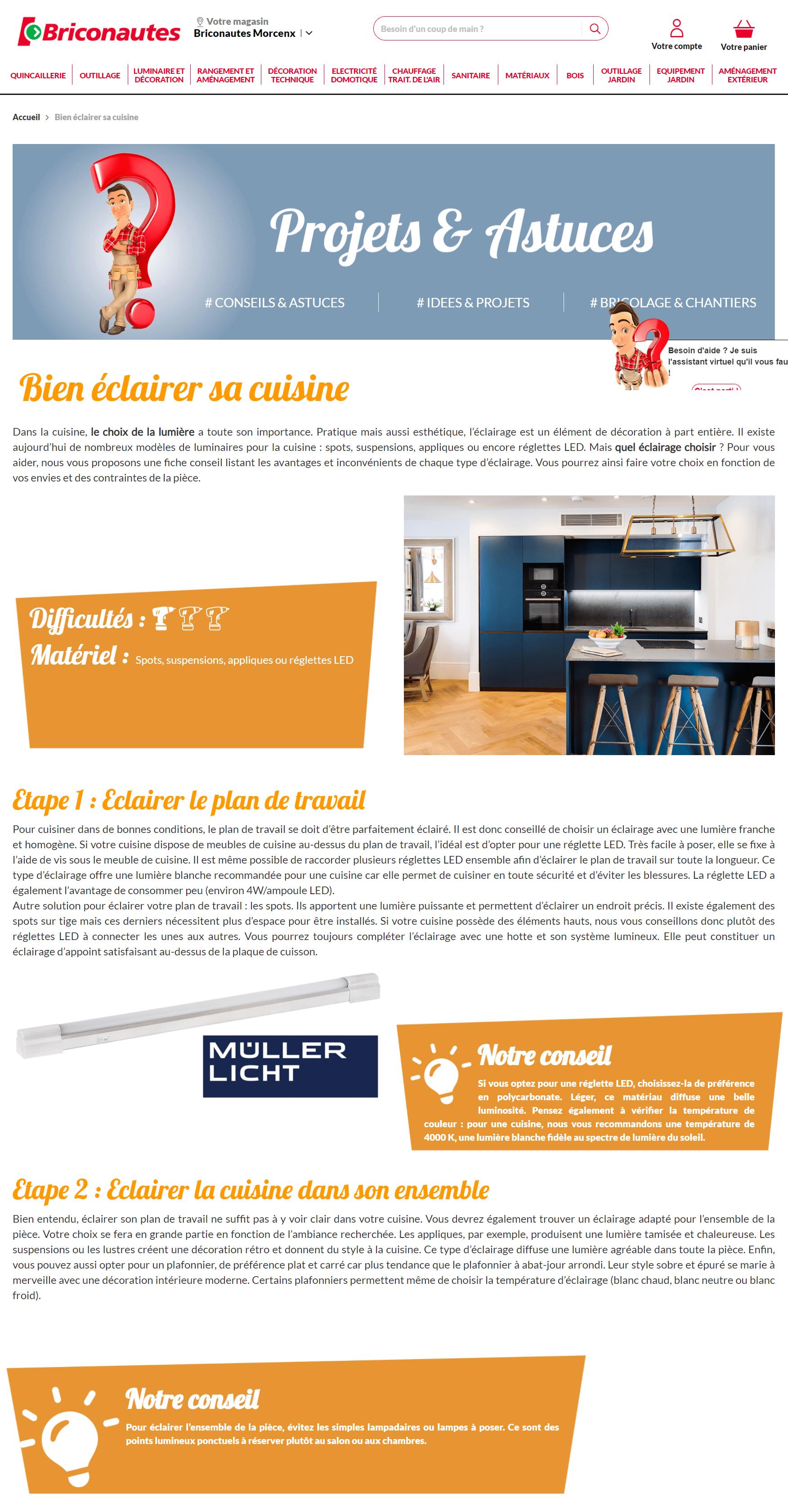 Rédacteur web bricolage - rédaction web contenu bricolage et maison - Orliance-Studio